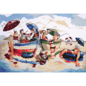 Design Works Counted Cross-Stitch Kit, Water Lunch
