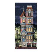 "Dimensions ""Victorian Charm"" Counted Cross Stitch Kit, 20cm x 43cm"