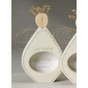 Angel Blessings Happy Anniversary Wooden Photo Frame #47646