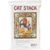 Cat Stack Quilt Kit-33cm X38cm