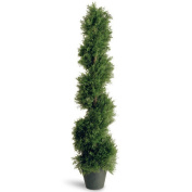 National Tree Co. Juniper Slim Spiral Tree