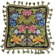 Candamar Designs 30947 Morris Style Needle Point Kit, 36cm by 36cm