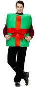 Unisex Gift Box with Bow Christmas Costume - Adult One Size
