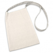 Canvas Corp Canvas Medium Shoulder Bag 22cm x33cm , Natural