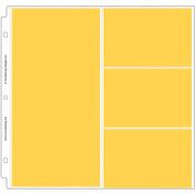 Doodlebug Page Protectors 30cm x 30cm 12/Pkg-(1) 15cm x 30cm & (3) 15cm x 10cm Pockets