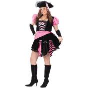 Pirate Pink Punk Adult Halloween Costume