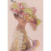 Dimensions Genteel Lady Mini Crewel Kit, 13cm x 18cm