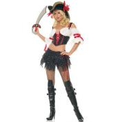 Leg Avenue Marauder Pirate Adult Halloween Costume Size L (12-14) #83268