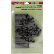 Stampendous Cling Rubber Stamp, Tree Poem
