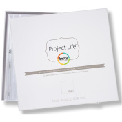 American Crafts Project Life Photo Pocket Pages, 60pk, 30cm x 30cm