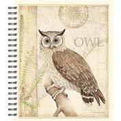Lang Sanctuary Owl Spiral Bound Sketchbook