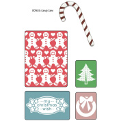 Sizzix Textured Impressions A2 Embossing Folder W/Bonus 5/Pk-My Christmas Wish By BasicGrey