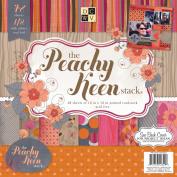 Peachy Keen Paper Stack, 30cm x 30cm , 48pk