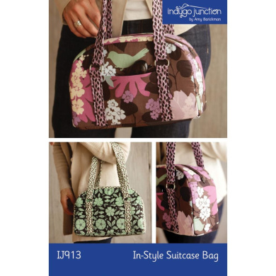 Indygo Junction In-Style Suitcase Bag