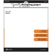 Ranger Inkssentials Specialty Stamping Paper, 30cm x 30cm , 10/Pkg