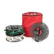 Instal n' Store Christmas Light Storage Reel - 3 Spools, Bag and Versa Clamp