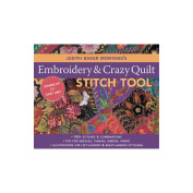 C & T Publishing-Embroidery & Crazy Quilt Stitch Tool