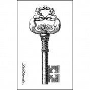 LaBlanche Silicone Stamp, 7.6cm x 4.4cm , Intricate Key