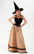 Elegant Witch Women's Halloween Costume Size Small/Medium (2-8) #5168