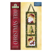 Jeri Kelly Patterns, Christmas Trio Wallhanging