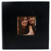 Pinnacle Frames and Accents 2-Up Black Photo Album