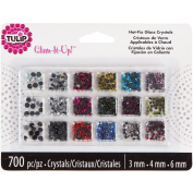 Tulip Glam-It-Up! HotFix Glass Crystals 700/Pkg - Assorted Colours