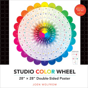 C & T Publishing Studio Colour Wheel Double-Sided Poster