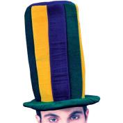 Mardi Gras Adult Halloween Tall Hat