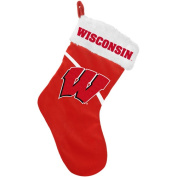 Forever Collectibles NCAA Swoop Logo Stocking, UniversityofWisconsinBadgers