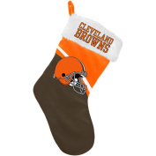 Forever Collectibles NFL Swoop Logo Stocking, Cleveland Browns