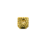 Beadalon Scrimps 3.6mm, 10/pkg, Gold Plated
