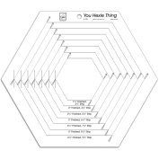 You Hexie Thing Hexagon Ruler-