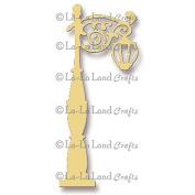 La-La Land Die-Street Lamp, 11cm x 5.7cm