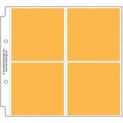 Doodlebug Page Protectors 20cm x 20cm 12/Pkg-(4) 10cm x 10cm Pockets