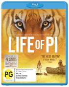 Life of Pi [Blue-ray] [Region 4]
