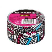 Scotch Duct Tape, Monster High, 4.8cm by 10-Yard
