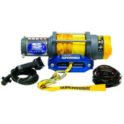 Superwinch 1145230 Terra 45 4500lbs-2046kg single line pull with hawse, handlebar mnt toggle, handheld remote, and synth