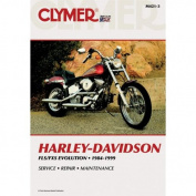 Clymer M421-3 1984-1999 Harley Davidson Fls/Fxs Big-Twin Evol Manual Hd Fls/Fxs Big-Twin Evol 84-99