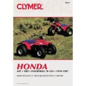 Clymer M311 1970-1987 Honda TRX125 Service Manual/Honda