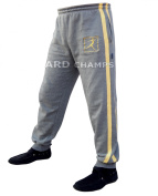 4Fit Men's Joggers Cotton Fleece Jogging Trousers Pants Track Suit Bottom