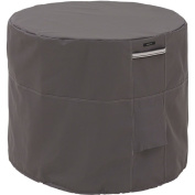 Classic Accessories Ravenna Round Air Conditioner Cover, Taupe