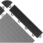 BlockTile Interlocking Ramp Edges with Loops, 12 Edges and 2 Corners