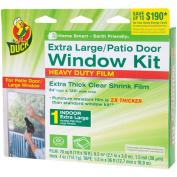 Duck Brand XL Heavy-Duty Patio Door Window Shrink Kit