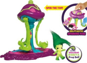 The Zelfs Toadstool Twirl and Swing Playset.