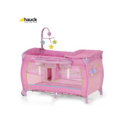 Hauck Dream n Play Travel Cot in Pink