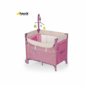 Hauck Dream n Care Travel Cot in Pink