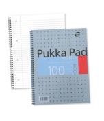 Pukka Editor Metallic A4 Writing Pad 80G.