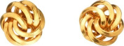 9ct Gold Knot Stud Earrings.