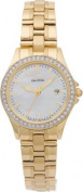 Citizen Ladies' Gold Tone. Crystal Eco-Drive Watch.
