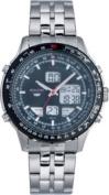Accurist Men's Stainless Steel Combination Bracelet Watch.
